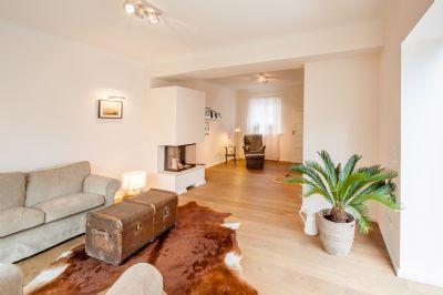 Wohnzimmer optional mit Kamin
