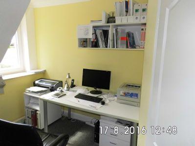 Büroraum/Schlafzimmer im Dachgeschoss