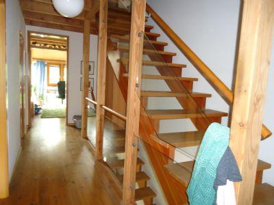 Flur mit Treppenaufgang