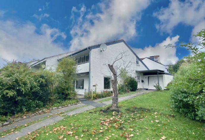 Doppelhaushälfte im Stil eines Einfamilienhauses