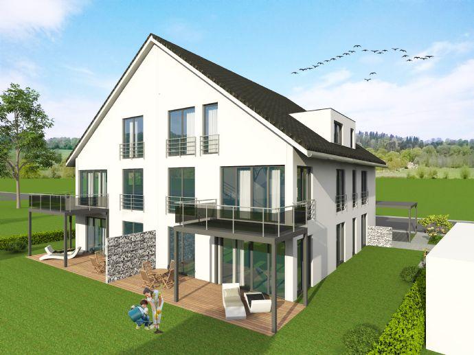 Schwellenfreie Neubau ETW in 5-Familienhaus mit Garten
