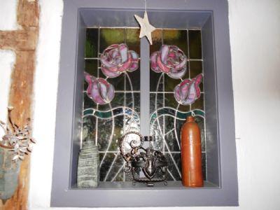Bleiverglastes Antikfenster