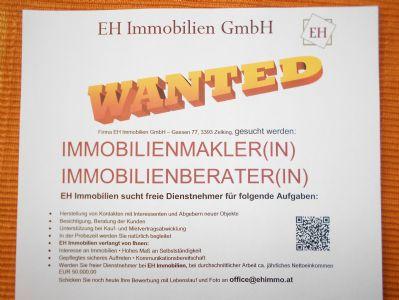Mitarbeiter - freie Dienstnehmer - Makler - Berater = GESUCHT ...