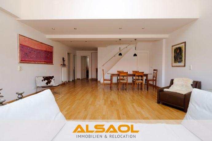 ALSAOL Immobilien: Bestlage-Glockenbackviertel - möbliert oder unmöbliert - stylische Dachterrassen-
