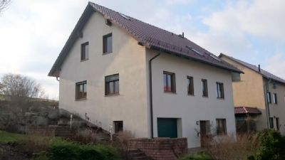 Neuwertiges geräumiges Einfamilienhaus mit Büroeinheit(kann als Einliegerwohnung ausgebaut werden) in grüner Lage