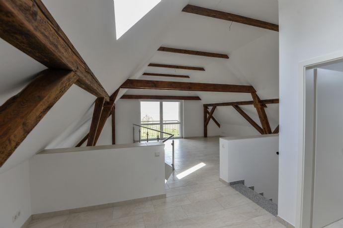 Moderne und hochwertige Eckhauswohnung mit Bodenheizung