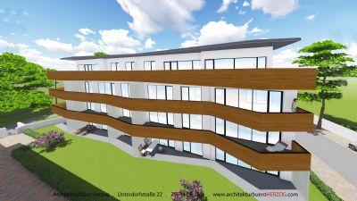 die Besondere! 2 Zimmer Penthouse - Neubau und neue EBK inkl.