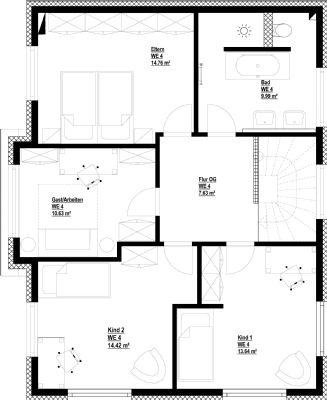 schnelsen 5 zi stadtvilla efh we 5 kfw 55 inkl bnk u ha kosten planen sie mit www pro. Black Bedroom Furniture Sets. Home Design Ideas