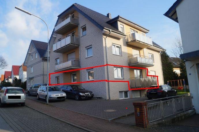 Maisonettewohnung mit Balkon, 4 Zimmer und Top Ausstattung verteilt auf 2 Ebenen