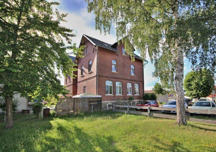 Attraktives Mehrfamilienhaus mit 7 Wohnungen und 6 Garagen in Saalfeld/ Unterwirbach