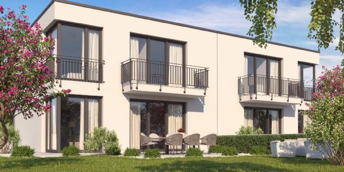 Perfekte Lage - mit Ziegel gebaut - Stadthaus Ottobrunn - KfW 55 - Rohbau fertig