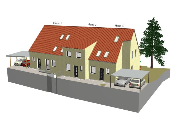 Haus 2 ... Ihr neues Zuhause ... Zufriedenheit und Behaglichkeit in allen Details ... verändert nicht die Welt, aber Ihren Alltag ...