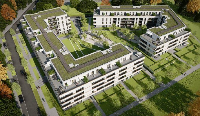 Leben am Park in Darmstadt-Bessungen, Lincoln-Siedlung im neuen Mary & Abe Bauprojekt, 4 ZKB, ETW Nr. 75 Comfort im 2. OG