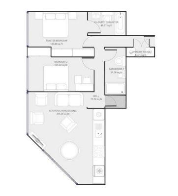 3-Zi-Wohnung in München, Sendling