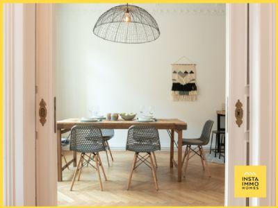Hochwertige möblierte 3 Zimmer Altbauwohnung in Alsternähe (WLAN inkl.)