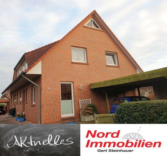Seltene Gelegenheit, Doppelhaushälfte in Emden/Conrebbi, in ruhiger Lage.