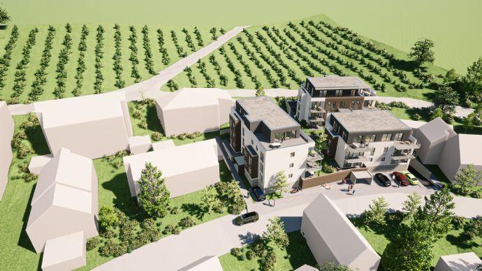 3-Zimmerwohnung mit Terrasse und Gartenanteil