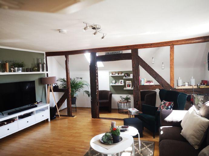 Maisonette Wohnung mit Balkon