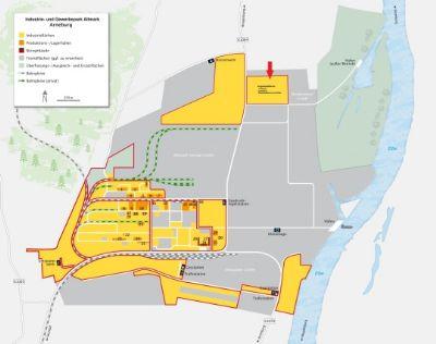 Arneburg Industrieflächen, Lagerflächen, Produktionshalle, Serviceflächen