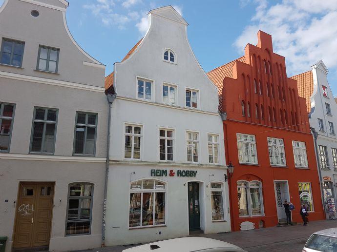 Denkmalgeschütztes Giebelhaus