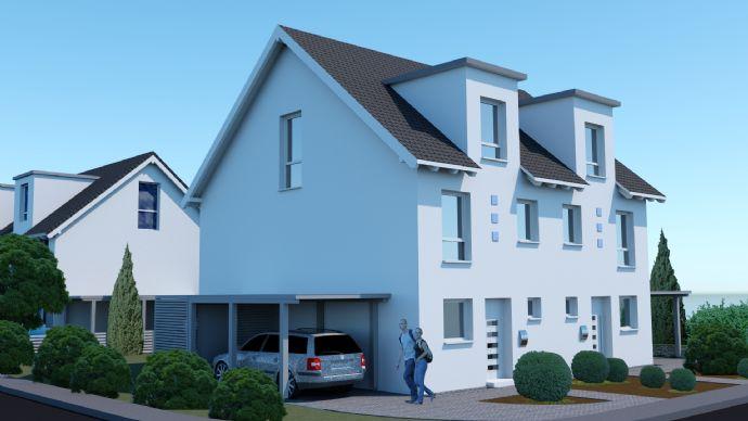 Neubau Doppelhaushälften inkl. Grundstück & Ausbau DG - Zentrum Schlangen