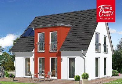 massivhaus neubauhaus inklusive bodenplatte mit town country in l ndlicher umgebung und doch. Black Bedroom Furniture Sets. Home Design Ideas
