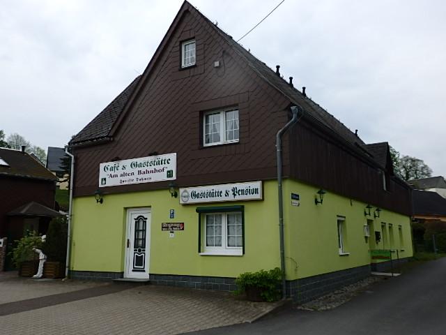 Wohnhaus mit Gaststätte/Cafe incl. 4 Pensionszimmer zu verkaufen