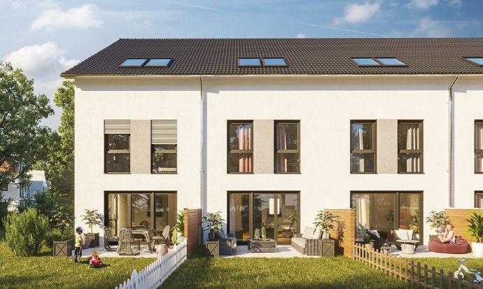 Perfekt geschnittenes Reihenendhaus mit Terrasse und Garten