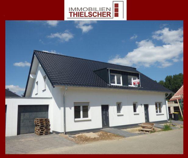 Neuerrichtete linke Doppelhaushälfte mit Garage *in Fertigstellung*