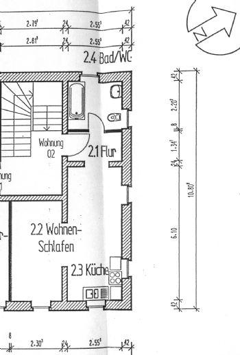 TOP Neu renovierte 1,5-Raum-Wohnung in Treben zu vermieten - Single Wohnung - 2 Monate mietfrei