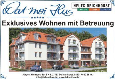 dat moi hus exklusives wohnen mit betreuung whg 12 wohnung delmenhorst 2kv3n4t. Black Bedroom Furniture Sets. Home Design Ideas