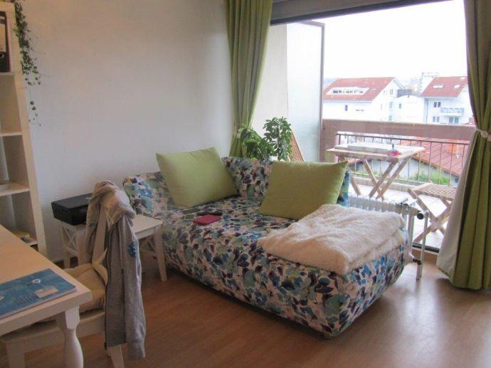 Ruhige möblierte 1 Zimmerwohnung in St.Johann von privat
