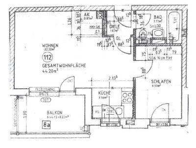 unterhaching 1 5 zimmer wohnung mit s d balkon in ruhiger zentraler lage wohnung unterhaching. Black Bedroom Furniture Sets. Home Design Ideas