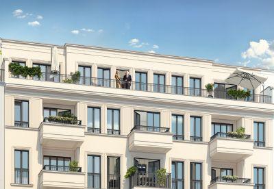 lichtes penthouse mit zwei dachterrassen we 18 etagenwohnung berlin 2lt9q4b. Black Bedroom Furniture Sets. Home Design Ideas