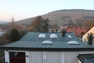 Ausblick auf die Werkstatt v.Wintergarten