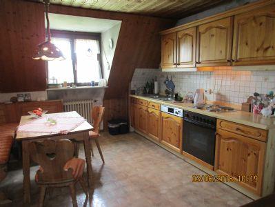 Wohnküche im OG