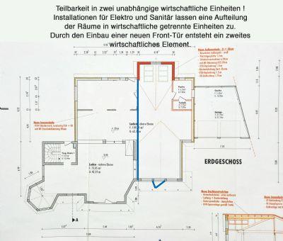 Bauzeichnung-Untergeschoss-Teilbarkeit