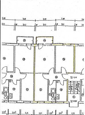 Grundriss 2-Raum-WE