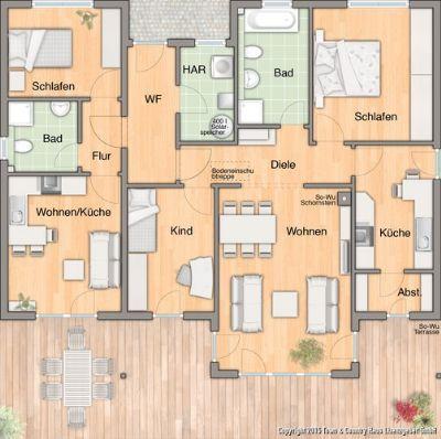 ein bungalow der begeistert bungalow bad driburg 2amxg43. Black Bedroom Furniture Sets. Home Design Ideas