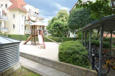 Spielplatz im Innenhof