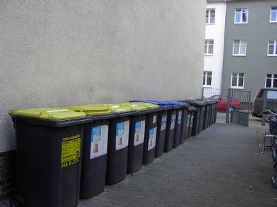 Müllabstellplatz