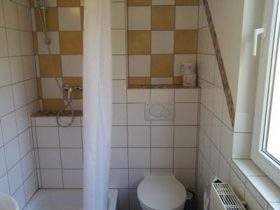 Dusche/WC Gästezimmer
