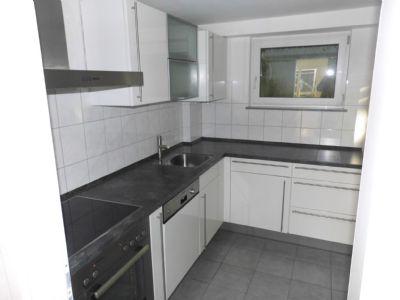 Küche mit Einbauküche, Herd Ceranfeld, Spülm.