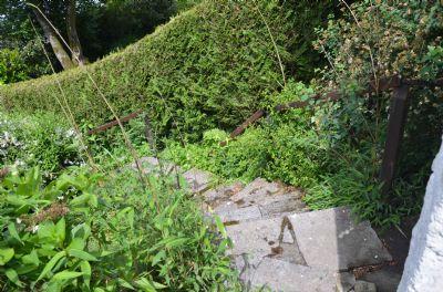Garten/Treppe zur Wiese