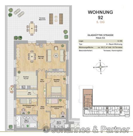 Erstbezug Modernes Penthouse Mit Grosser Dachterrasse In Striesen