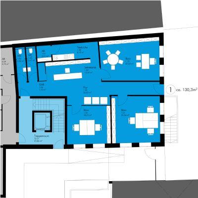 central wohnen hattingen barrierefreie b rofl che im eg mit tiefgarage im zentrum von. Black Bedroom Furniture Sets. Home Design Ideas