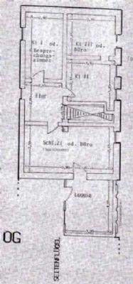 Grundriss OG Haupthaus