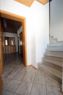 Die Treppe zum OG-Wohnung