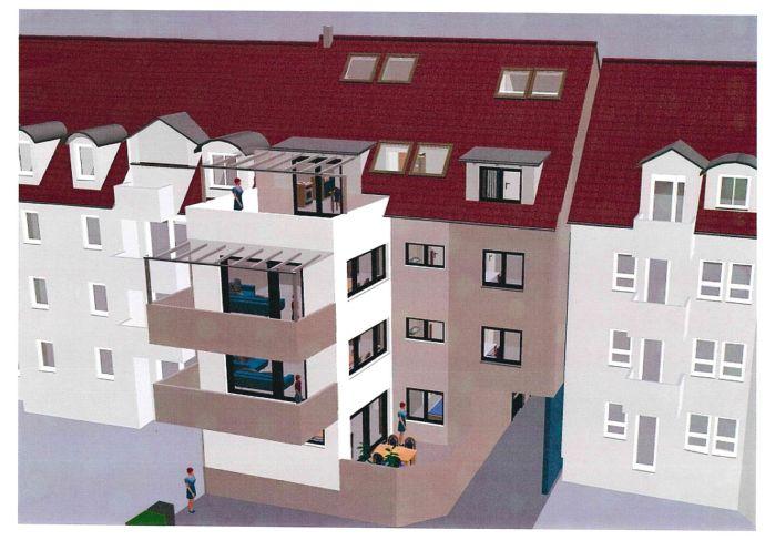 Baubeginn !! Neuer Grundriss. Neue Wohnungen in zentraler Lage von Offenburg 70 bis 100m² Wfl.