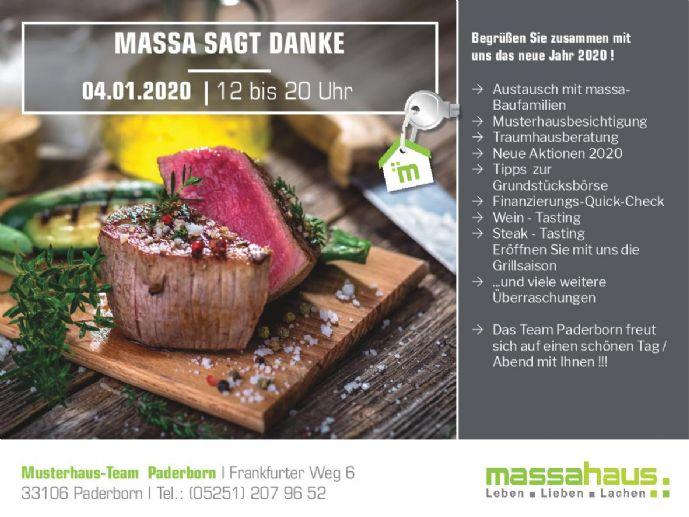 * massa sagt Danke * am 04/01/2020